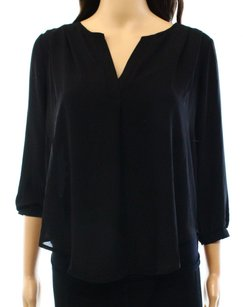 Lush 100% Polyester 3/4 Sleeve Top