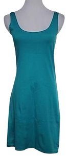 Lux Womens Teal Dress