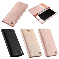 Luxury Genuine Flip Card Wallet Leather Case Cover For iPhone 7/7 Plus /6/6 Plus
