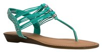 Madden Girl Green Sandals