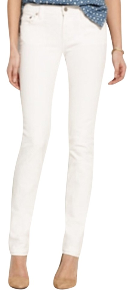 Madewell Rail Straight Jeans - White - Size 28x34