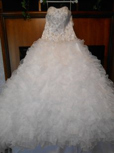Mori Lee Brand New Madison Couture 5010 Wedding Dress