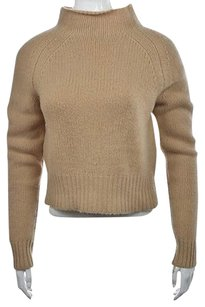Magaschoni Mag Womens Tan Cowl Sweater