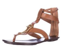 Maiyet Womens Leather Brown Sandals