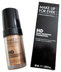 MAKE UP FOR EVER MAKE UP FOR EVER HD Invisible Cover Foundation 1.01 fl oz 30ml- N107 Pink - light skin with deep pink undertones