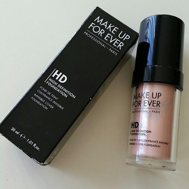 make up for ever n107 pink light skin with deep pink