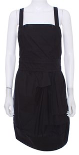 Marc by Marc Jacobs short dress Black Cotton Machine Washable on Tradesy