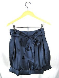 Marc by Marc Jacobs Navy Dress Shorts Blue