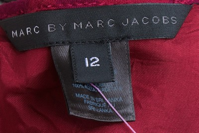 Marc by Marc Jacobs short dress Wine on Tradesy