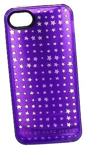 Marc by Marc Jacobs Marc By Marc Jacobs Purple Star Perforated Silicone Iphone 55s Cover