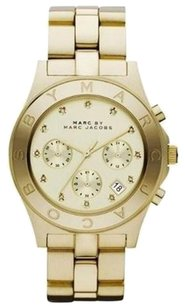 Marc by Marc Jacobs Marc Jacobs Chrono Glitz Gold Dial Women's Watch