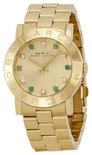 Marc by Marc Jacobs Marc Jacobs MBM3215 36mm Gold Steel Bracelet & Case Women's Watch
