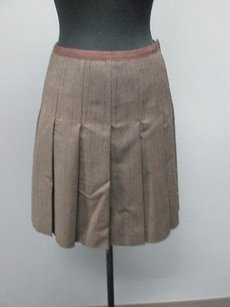 Marc by Marc Jacobs Brown Skirt brown/white specks