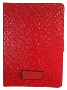 Marc by Marc Jacobs PRICE REDUCTION: NEW, CORAL, SNAKE-STAMPED LEATHER TABLET CASE