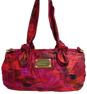 Marc by Marc Jacobs Red Satchel in Multi-Color