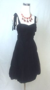 Marc by Marc Jacobs short dress Black Tulle And Taffeta Polka Dot on Tradesy