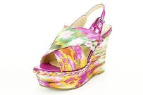 Marc Fisher Womens multi-colored Platforms