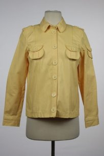 Marc Jacobs Womens Yellow Jacket