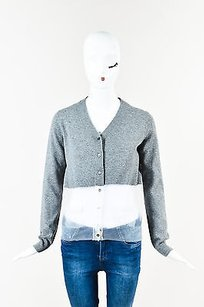 Marc Jacobs Grey White Knit Sweater