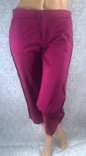 Marc Jacobs Burgundy Cropped Pants