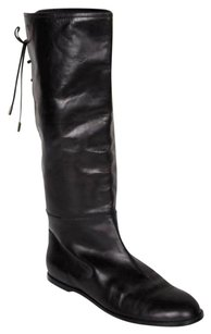 Marc Jacobs Womens Back Black Boots