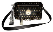 Marc Jacobs Leather Italian Studded Gold Hardware Shoulder Bag