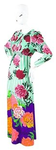Multi-Color Maxi Dress by Marc Jacobs Mint Green