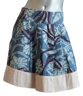 Marc Jacobs Tropical Print Skirt Multi-Color