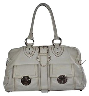 Marc Jacobs Womens Satchel in Ivory