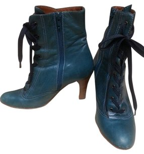 Marc Jacobs teal Boots