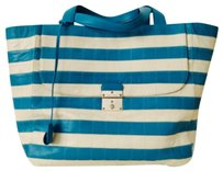 Marc Jacobs Tote in Blue And White