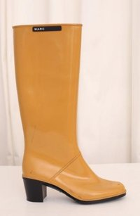 Marc Jacobs Womens Mustard Yellow Boots