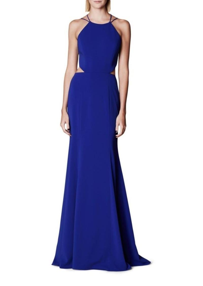 Marchesa Notte Woman Tasseled Embellished Stretch-cady Gown Royal Blue Size 16 Marchesa Shopping Online Cheap Price Discount View Sast Cheap Price Free Shipping Sneakernews Cheap Low Shipping Fee MS6YW2