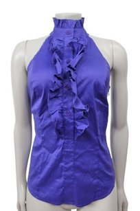 Marciano Neck Shirt Top Purple