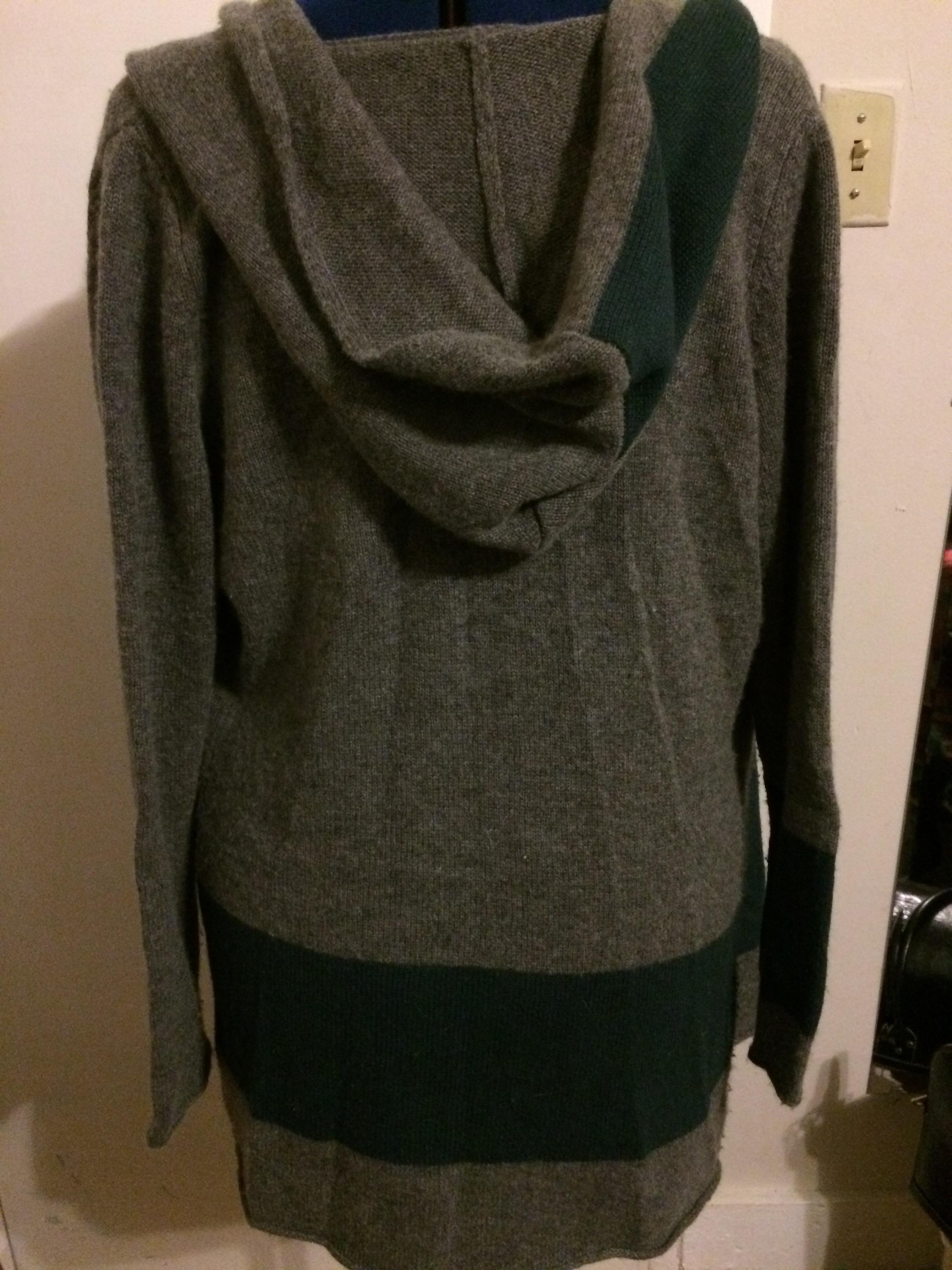 Margaret O'Leary Cashmere Soft Hooded Cardigan Size 10 (M) - Tradesy