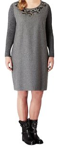 Marina Rinaldi short dress Grey Sweater on Tradesy