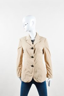 Marni Black Fitted Dome Tan Jacket