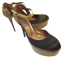 Marni Black / Gold Pumps
