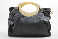 Marni Dark Grained Hobo Bag