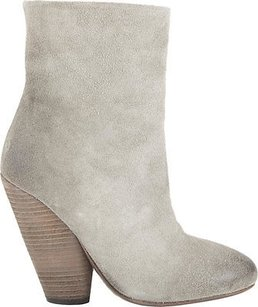 Marsèll Suede Round Toe Burnished Ankle Eu Grey Boots