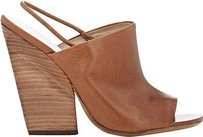 Marsll Marsell Grained Leather Brown Pumps