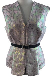 MARY KATRANTZOU Top Pink