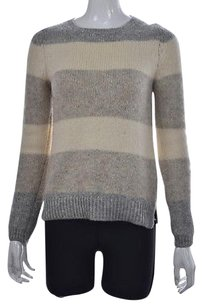 Massimo Dutti Womens Gray Sweater