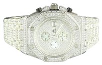 Mens Master Of Bling Watch Jojino Joe Rodeo White Simulated Diamond 47mm Ap-03