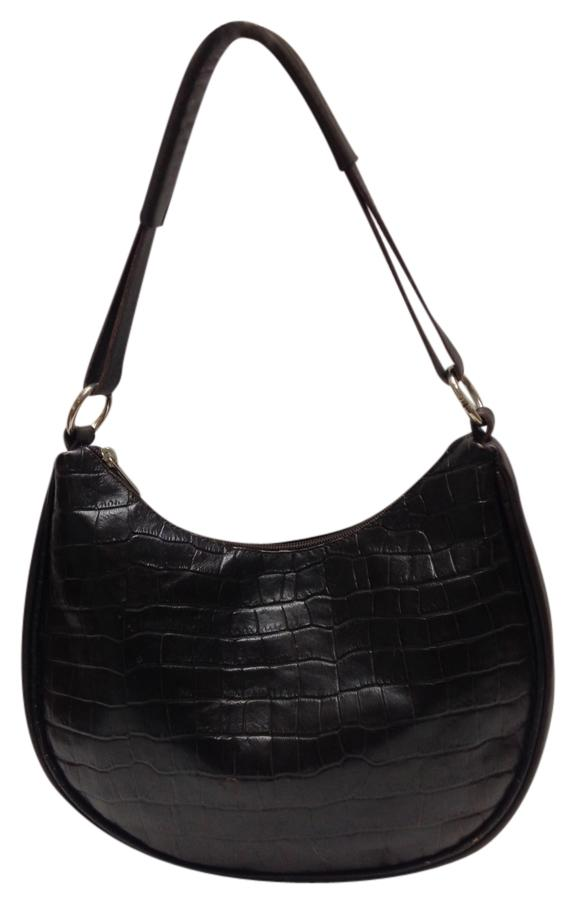 Maurizio Taiuti Medium Croc-embossed Leather Hobo Bag best ...