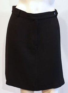 Max and Cleo Co Stretch Jersey Skirt Black
