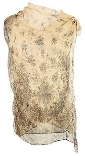 Max and Cleo Floral Womens Top brown