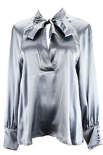 Max & Co. C1140111 Womens Top Blue