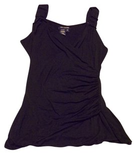 Max Brighton Dressy Date Night Casual Top Black