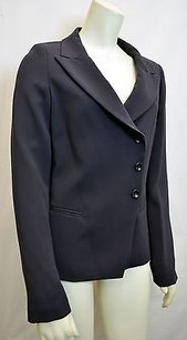 Max Mara Maxmarabobby Jacket Navy Button Blazerjacket Fully Lined 90901mm